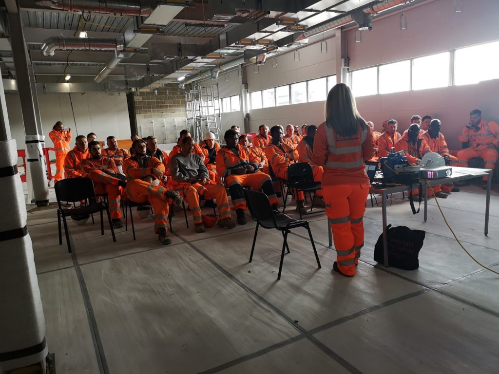 Louise Presenting to the Workforce
