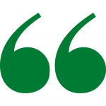 Green Quote Marks